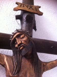 Chapel Crucifix Holy Spirit Church